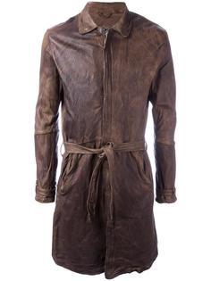 belted coat  Giorgio Brato
