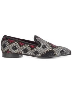Swarovski crystal embellished slippers Louis Leeman