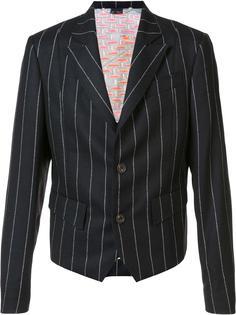 pinstriped blazer Vivienne Westwood Man
