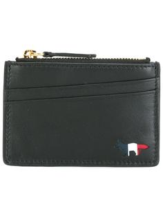 top zip purse Maison Kitsuné