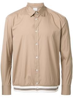 рубашка с подолом в полоску Cityshop