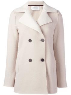 короткое двубортное пальто Harris Wharf London