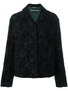 короткое пальто на пуговицах Rochas
