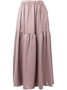 длинная юбка со сборкой Cityshop