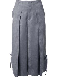 укороченные плиссированные брюки Taro Horiuchi
