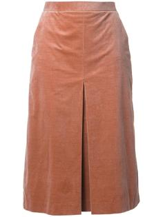 box pleated pencil skirt Cityshop