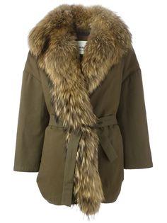 короткое пальто 'Alexa' с поясом Ava Adore