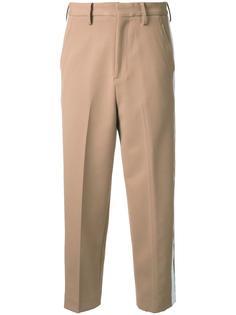 укороченные брюки с полосками сбоку Cityshop