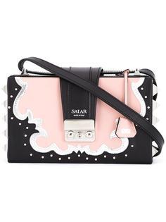 сумка на плечо с заклепками Salar