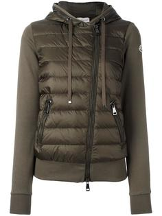 padded front jersey hoodie Moncler