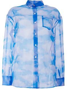 рубашка с принтом облаков Taro Horiuchi