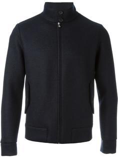 куртка бомбер с высокой горловиной Harris Wharf London