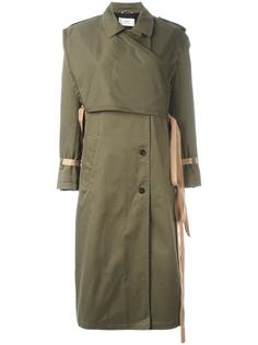 wrap detail trench coat Ports 1961