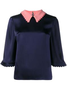 'Demi' satin blouse Roksanda
