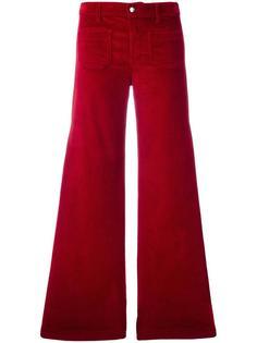 corduroy flared trousers The Seafarer