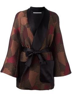 shawl robe trapeze jacket Rosetta Getty