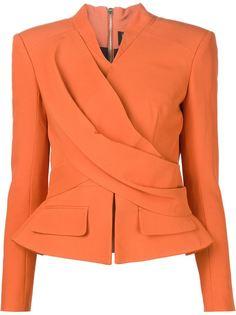 пиджак с запахом Balmain