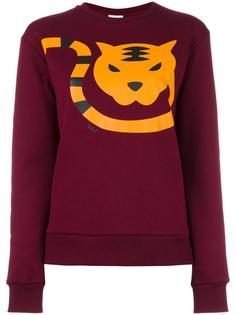 tiger print sweatshirt  Au Jour Le Jour