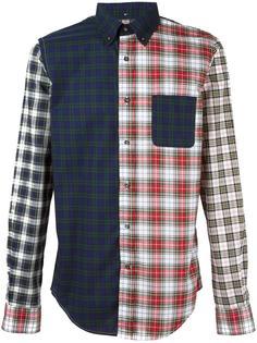 multi-print shirt Wooster + Lardini