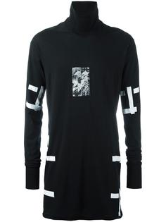 stripes print turtleneck sweatshirt Boris Bidjan Saberi