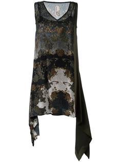 платье с узором пейсли Antonio Marras
