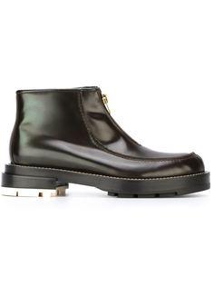 ботинки с передней молнией Marni