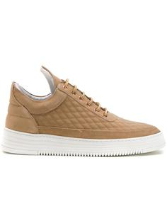 low top quilted sneakers  Filling Pieces