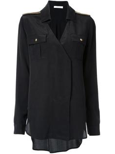 блузка с нагрудными карманами Pierre Balmain