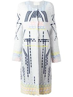 geometric coat Peter Pilotto