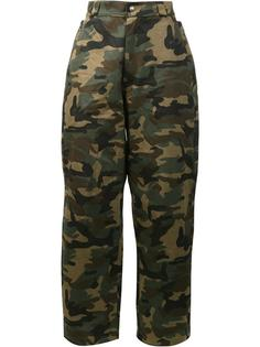 camouflage print trousers Hood By Air