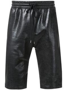 спортивные шорты с вощеным покрытием Miharayasuhiro