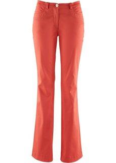 Стрейтчевые брюки-клеш (белый) Bonprix