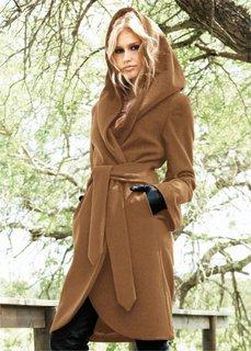 Пальто (коричневый) Bonprix