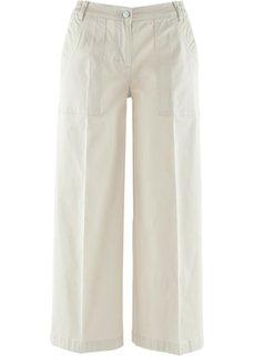 Широкие брюки-кюлоты (синий «потертый») Bonprix