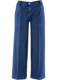 Широкие брюки-кюлоты (каменно-бежевый) Bonprix