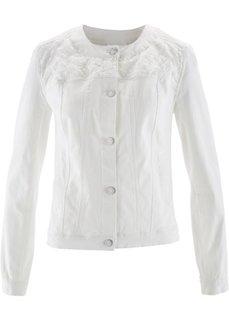 Куртка с вышивкой (нежно-розовый) Bonprix