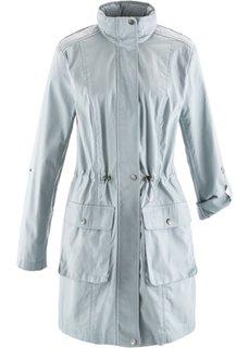 Куртка-парка с кружевом (нежно-розовый) Bonprix