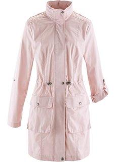 Куртка-парка с кружевом (серебристо-серый) Bonprix