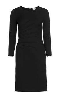 Платье-футляр с круглым вырезом Armani Collezioni
