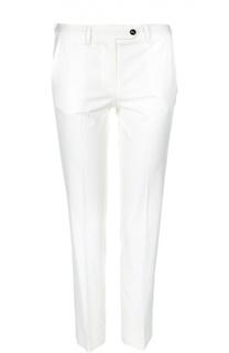 Укороченные хлопковые брюки Kiton