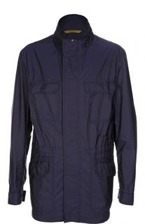 Куртка с накладными карманами Canali