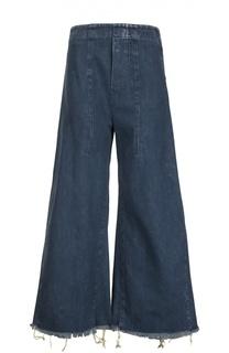 Расклешенные джинсы с необработанным краем Chloé