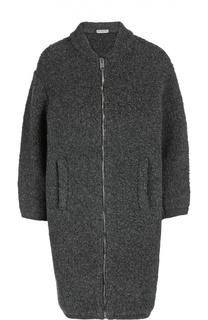 Пальто вязаное Balenciaga