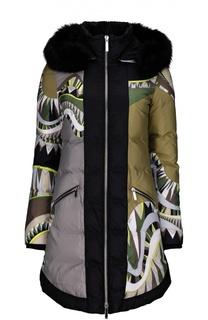 Куртка с капюшоном Emilio Pucci