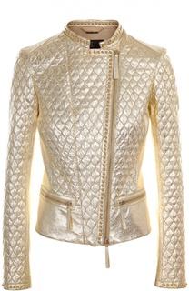 Кожаная куртка Roberto Cavalli