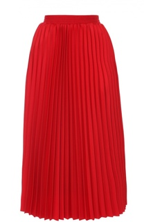 Плиссированная юбка с эластичным поясом Balenciaga