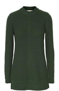 Пуловер фактурной вязки с воротником-стойкой Michael Michael Kors