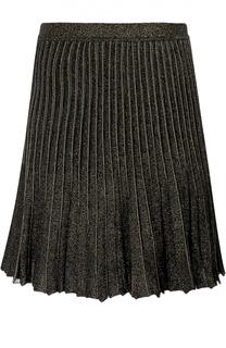 Трикотажная плиссированная юбка Roberto Cavalli