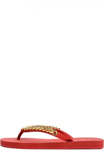Шлепанцы Florida с цепочкой Giuseppe Zanotti Design