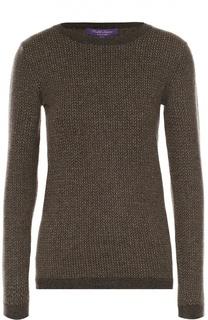 Приталенный пуловер с круглым вырезом Ralph Lauren